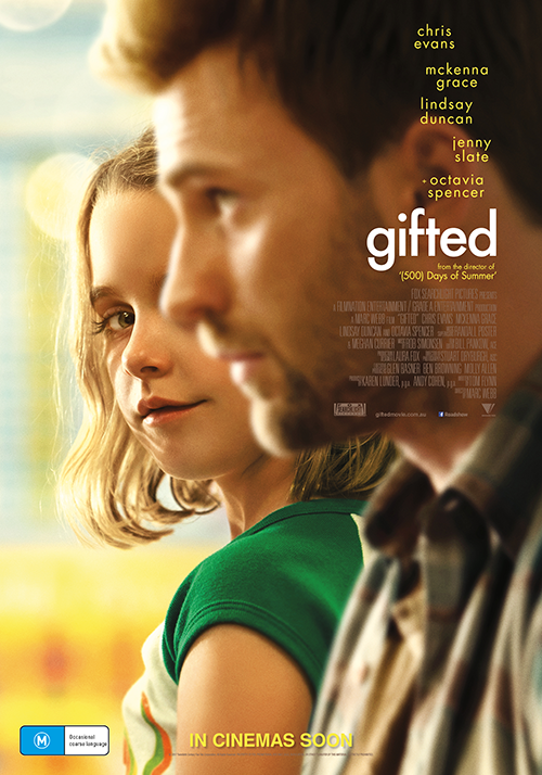 Win tickets to the  screening of Gifted